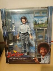 Neca Bob Ross Cloth The Joy Of Painting Action Figure 7andrdquo Inch
