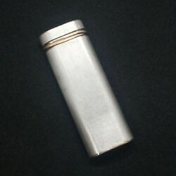 Lighter 42139s Paris Silver Plated Vintage Swiss Made