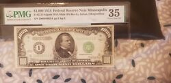 1934 Minneapolis 1000 Dollar Bill Only 12000 Printed Last Chance Trophy Note