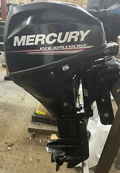 20hp Mercury F20 Power Tilt Long Shaft 4-stroke Outboard And Remotes