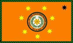 Cherokee Nation Flag Glossy Poster Picture Banner Print Photo 7924