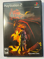 Drakengard Sony Playstation 2, 2004 Complete With English And French Manuals
