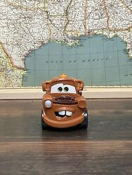 2010 Fisher-price Disney Pixar Cars 2 Shake N Go Mater Tow Mater Shake And Go