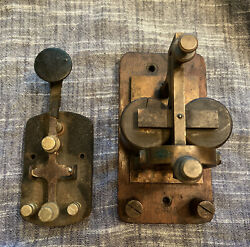 Vintage Telegraph Key And Sounder No Reserve No Name Or Brand Marked On It