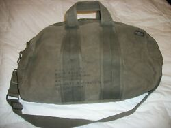 Heavy Canvas Green Aviators Military Mountain Expedition Duffle Bag