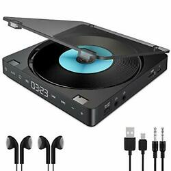 Cd Player Portable Rechargeable 1200mah Battery Touch Button Cd Disc Walkman