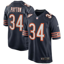Brand New 2021 Nfl Chicago Bears Walter Payton Nike Game Retired Player Jersey
