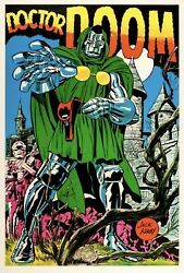 Mondo Doctor Doom Marvel Mania Poster Jack Kirby Xx/195 Pre-order Sold Out