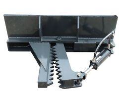 Skid Steer Hd Post And Tree Puller Fits Bobcat Mt Series 453 And 463