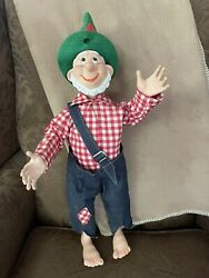 Vintage Mountain Dew Hillbilly Willy Doll.