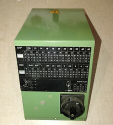 Emco Compact 10 Lathe Single Phase Switch, Cover And Threading Label 0115