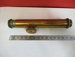 Antique Brass Beck Uk Spectrometer Optics Microscope Part As Pictured Andq3-b-31