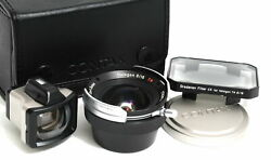 Carl Zeiss Hologon 8/16 T Lens For Contax G Mount Boxed W. Finder