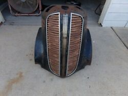 1937 Dodge D5 Grille Support And Trim