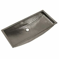 Native Trails Trough Bathroom Sink With Polished Nickel Finish Cps800