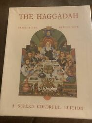 Arthur Syzk / Szyk Arthur And Roth Cecil The Haggadah With Metal Cover