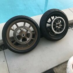 Harley Davidson Dyna Low Rider S 2017 Rims And Tires With Rotors And Pulley