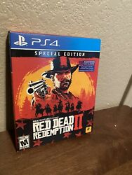 Red Dead Redemption 2 Special Edition Playstation 4 Brand New And Sealed Ps4