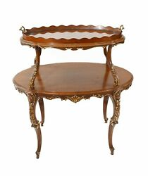 Italian Etagere Table Tiered Tables Antique Server 1930