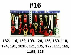 Set16 Auto Body Frame Machine Heavy Duty 18 Piece Tools And Clamps Set
