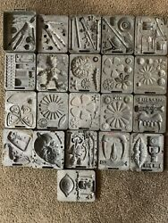 Mattel Thingmaker 21 Molds Fright Factory, Fun Flowers, Fighting Men,and Pinocchio