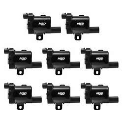 Msd Black Coil Gm 99-07 L-series Truck 8-pack Reliable Exceptional Value