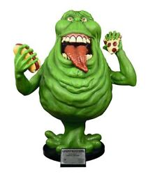 Ghostbusters Slimer Exclusive Glow In The Dark Life Size Statue