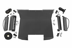 Rough Country For Polaris Metal Fab Roof W/led Lights 12-20 Rzr 170 Efi