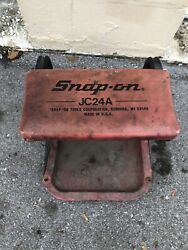 Vintage Snap On Tools Jc24a Rolling Mechanics Seat Creeper Chair