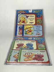 2 Lot 2005 My First Story Reader 3 Storybook Library Sesame Street Winnie Pooh