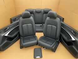 Audi A6 S6 C8 4k Soda Comfort Leather Trim Leather Seats Electronic