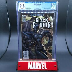 Black Panther 1 Cgc 9.8 - 1st Shuri As Black Panther On Cover J. Scott Campbell