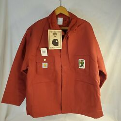 Vintage Duck Arctic Lined Jacket Coat Xl Asgrow Seed Patch Cq740