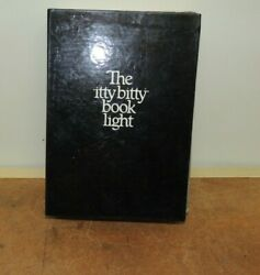 Vintage 1982 The Itty Bitty Book Light Zelco In Original Box