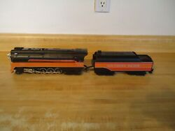 Mth O Gauge Southern Pacific Daylight Steam Locomotive 4449 And Tender