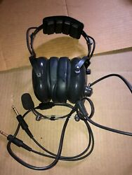 Avcomm Aviation Products Ac-200pnr Aviation Headset With Mic