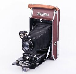 Rare Soviet Vintage Film Photo Camera Moment Collectible Folding Russian Ussr