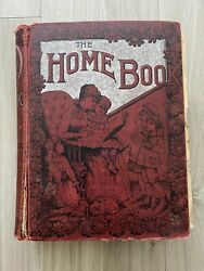 The Home Book - Antique Homemaking And Homeschooling Book 1894 - J.h. Vincent