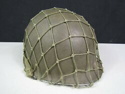 Wwii Us Army Usmc M1 Helmet Fs Sb With Westinghouse Liner And Net
