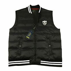 Polo P Wing Crest Lightweight Quilted Down Vest Jacket Black Xxl