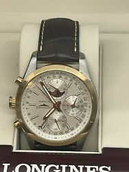 Longines Master Collection Moonphase L2.773.4.78.5 Automatic Chronograph 42mmandnbsp