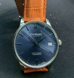 Christopher Ward C9 Automatic Watch Calibre Sh21 120h Power Reserve