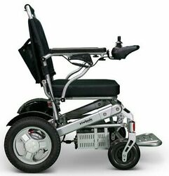 Foldable Lightweight Portable Electric Power Wheelchair Mobility Aid Travel