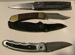 Pocket Knives 4 In The Lot Used Dirty