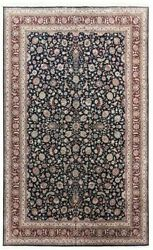 Hand Knotted Wool Navy Red New Traditional Oriental Area Rug Carpet 12 X 18