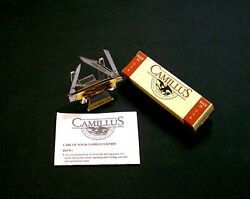 Camillus 70 Indian Stag Knife Usa Handmade Sword Brand 1970's W/camillus Package
