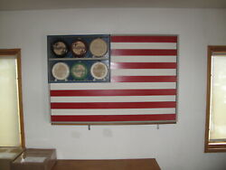 Mark Woolley Iconic Flag Display Case