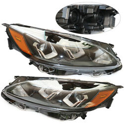 Pair Headlight Halogen Lamps Set Lh+rh Fit For Ford Escapes/se/sel 2020 2021 Usa