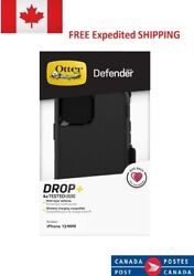 Otterbox Defender Case With Holster For Apple Iphone 13 Mini Pro Pro Max - Black