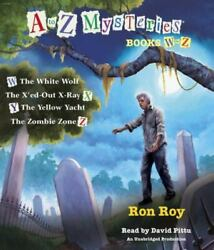A To Z Mysteries Books W-z The White Wolf The X'ed-out X-ray The Yell - Good